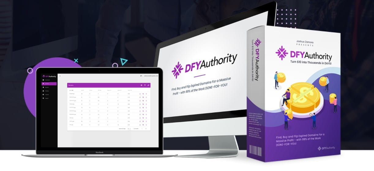 DFY AUTHORITY review demo and $4295 Bonus 👉 make money with expired domains