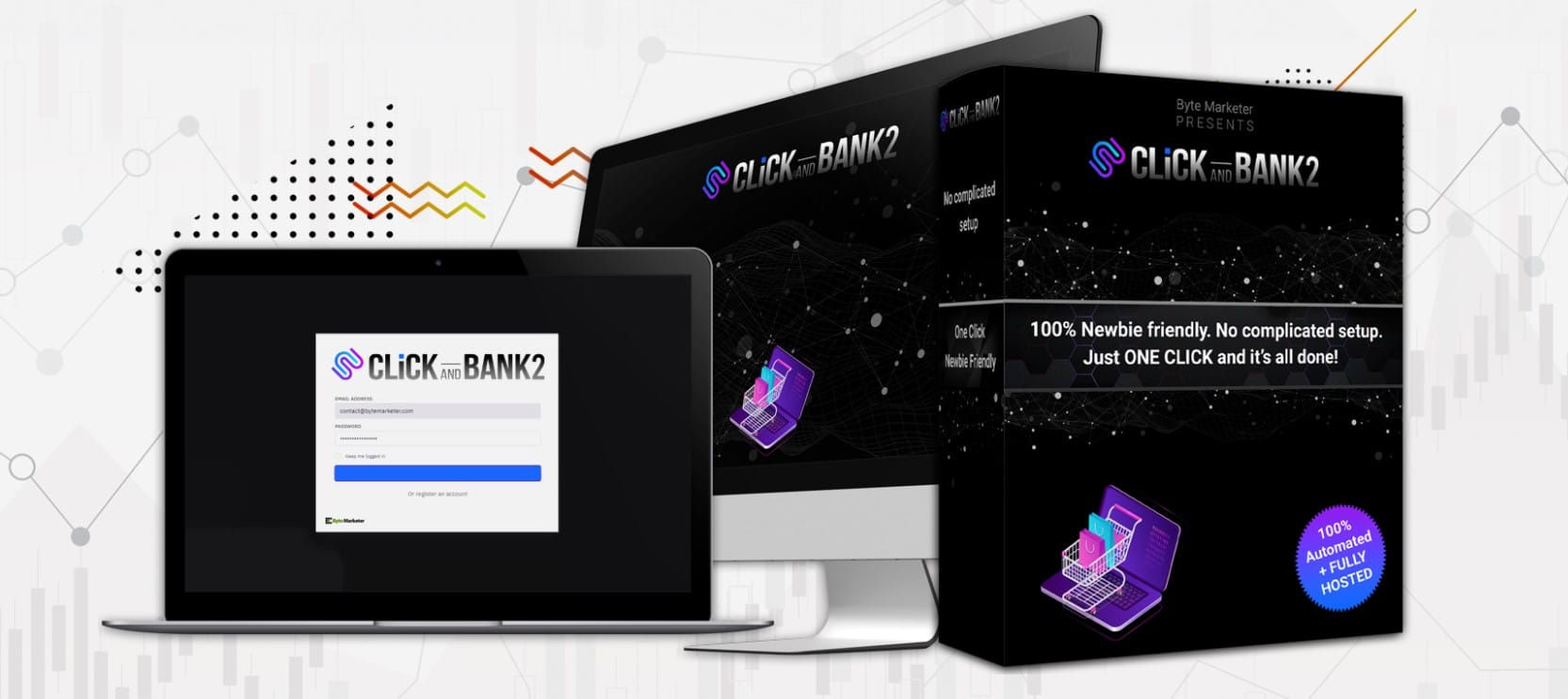 CLICK AND BANK 2 review demo 👉 make money with ClickBank products